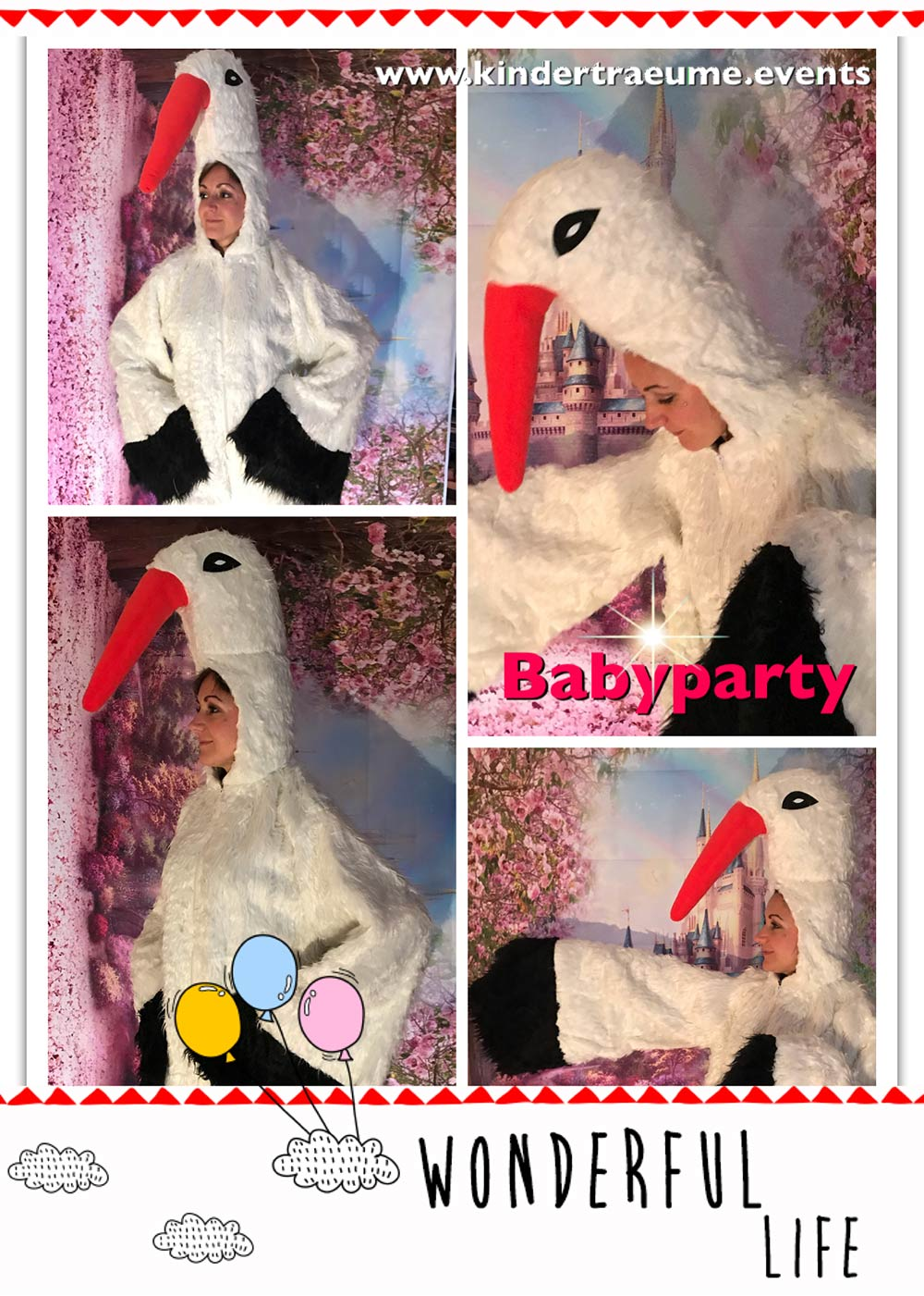 Storch Babyparty